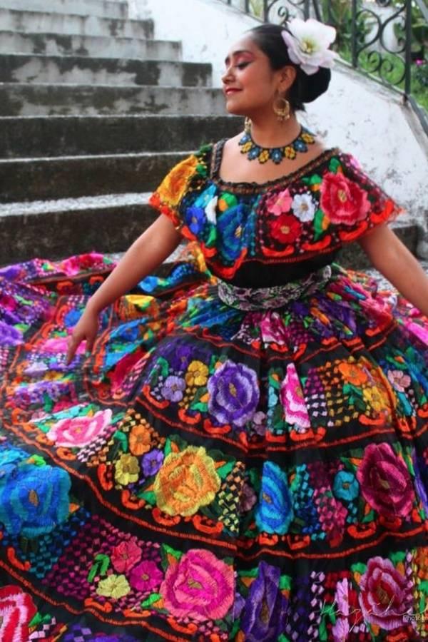 traje tradicional chiapaneco
